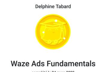 Certification Waze