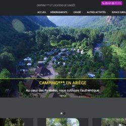 Camping à Ornolac (09)www.ariege-evasion.com