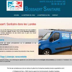 Plombier chauffagiste sur Sainte-Eulalie-en-Born (40) www.bossaert-sanitaire.fr