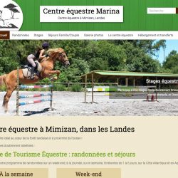 Mimizan (Landes)www.centre-equestre-marina.com