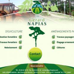 Sylviculture, aménagements paysagers www.gerardnapias.com
