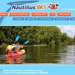 Loueurs de canoës www.nautilius-bks.fr