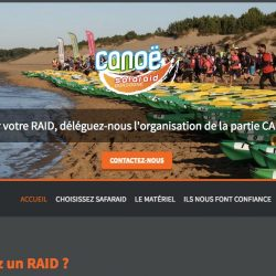 Raids en canoë www.raid-nature-canoe.com