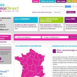 Site d'annonces d'emplois directs www.relaisemploidirect.org