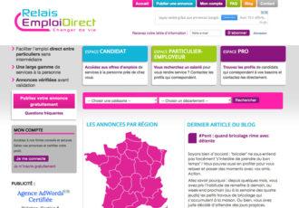 Relais Emploi Direct - Site d'annonces d'emplois > www.relaisemploidirect.org