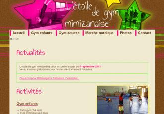 L'étoile de gym mimizanaise > www.gym-mimizan.fr