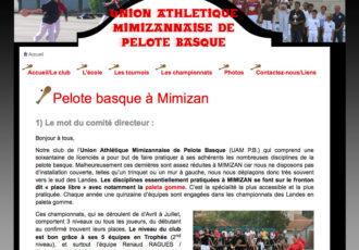 UAM Pelote basque > www.mimizan-pelote-basque.fr