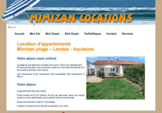 Mimizan Locations, Location d'appartements > www.mimizan-locations.fr