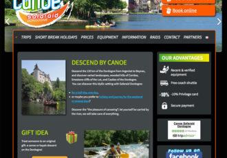 Canoë Safaraid Dordogne, Loueur de canoë > www.canoe-kayak-dordogne.com