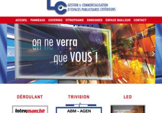 Aquitaine LC, Espaces publicitaires extérieurs > www.aquitainelc.com