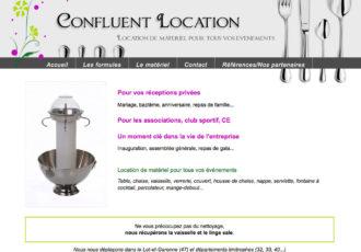 Confluent Location, Location de matériel de réception > www.confluentlocation.com