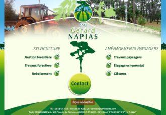 Sarl Gérard Napias, Sylviculture, aménagements paysagers > www.gerardnapias.com
