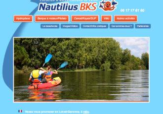Nautilius-BKS, Loueurs de canoës > www.nautilius-bks.fr