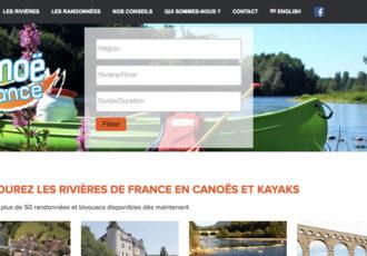 Gie Rivières de France, Randos en canoë en France > rando-canoe-france.com