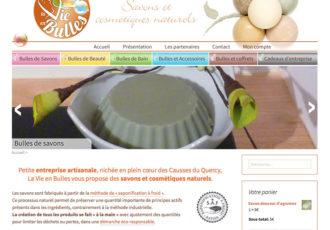 La vie en bulles - Boutique en ligne de savons et cosmétiques bio >www.la-vie-en-bulles.fr