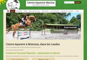 Centre équestre Marina, Mimizan (Landes) > www.centre-equestre-marina.com
