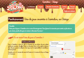 Le Parcœur, aire de jeux > www.leparcoeur.fr