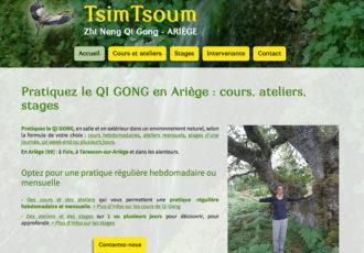 Tsim Tsoum, cours de Zhi Neng Qi Gong en Ariège > Visitez le site www.tsimtsoum.fr