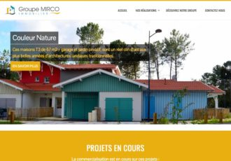Groupe Mirco, Promoteur immobilier dans les Landes > Visitez le site groupemirco.com