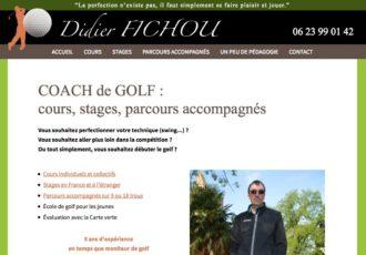 Didier Fichou, Coach de golf sur Toulouse et alentours > Visitez le site golfcoach31.com