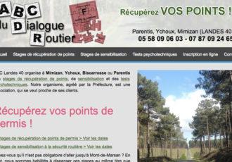ABC Landes, Stages de récupération de points dans les Landes > Visitez le site abclandes40.fr