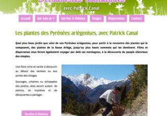 Patrick Canal, Sorties botaniques dans les Pyrénées > Visitez le site patrick-canal.fr