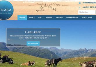 Angaka, Village et activités nordiques en Ariège, Pyrénées > Visitez le site angaka.com