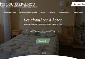 Gîte Lou Parpalhou, gîte d'étape à Eauze (32) > Visitez le site gitelouparpalhou.com