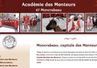 Académie des menteurs de Moncrabeau (47) > Visitez le site academiedesmenteurs.fr
