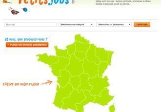 > Visitez le site www.petitsjobs.fr