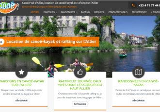 > Visitez le site canoe-valdallier.com
