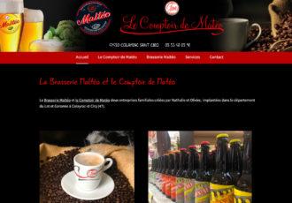 > Visitez le site www.lecomptoirdemateo.fr