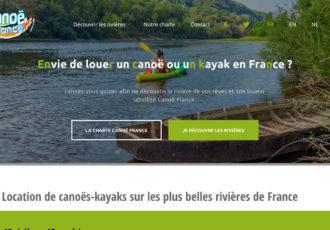 > Visitez le site canoe-france.com
