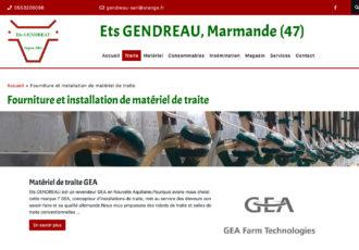 > Visitez le site www.etsgendreau.fr