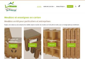 > Visitez le site www.lamaisonducarton.fr